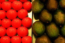 Tomatoes & Avocados von Benjamin Wilkinson