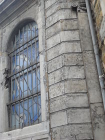 Kirchenfenster am Aachener Dom von Kathrin Kiss-Elder