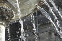 Wasserstrahl einer Fontäne von Kathrin Kiss-Elder