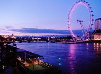 London Eye/ Thames by wastdyuth