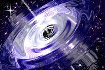 Raumzeit-gravitationsschockwelle