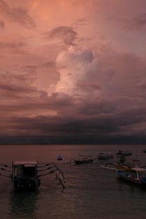 Purple Storm in Bali von Benjamin Wilkinson