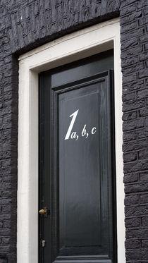 Amsterdam. The door. by Anton Khodakovsky