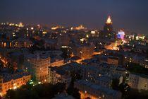 View over Stari Arbat, Moscow, Russia, 4423 von Stas Kalianov