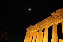 Acropolis Full moon by Andreas Papakonstantinou