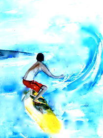 Surfer by Annegret Hoffmann