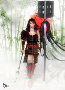 Lady Samurai by axel-doi