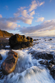 Sandymouth Beach, Cornwall by Craig Joiner