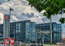 Hauptbahnhof Berlin von Michael  Hoehne