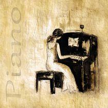 Klavierspielerin von Christine Lamade
