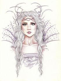 Queen of ice von Tania Santos