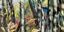 Birken im Herbst von Renée König