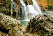 Turner Falls in Oklahoma by Betty LaRue