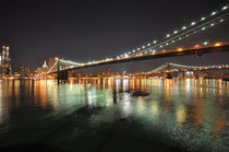 Brooklyn Bridge by night von sofiane