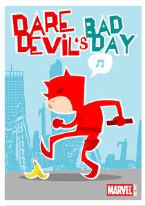 Davedevil's bad day by shanehorror