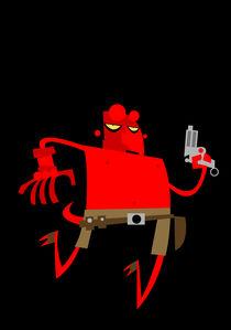 Hellboy by shanehorror