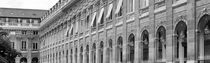 PARIS PALAIS ROYAL FOUNTAIN GARDENS BUREN COLUMNS  by Paul Bellevie