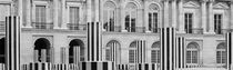 PARIS PALAIS ROYAL GARDENS BUREN COLUMNS by Paul Bellevie