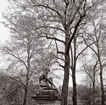 PARIS, GARDENS OF LUXEMBOURG, STATUES  by Paul Bellevie