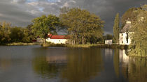 Bushy Park Oasthouse complex panorama by photography-by-odille