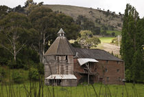 Shooter's Kiln/oast house, near Hayes, Tasmanai by photography-by-odille