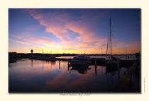 Sunrise at the docks, Hobart, Tas, July 2010 by photography-by-odille