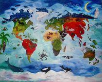 """""""Our Wonderful World"""" von Bärbel Knees"""