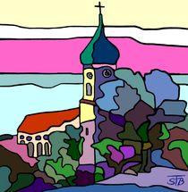 'Pfarrkirche in Utting' by SUSANNE eva maria  FISCHBACH