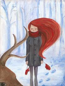 Winter card von Kate Hasselnott