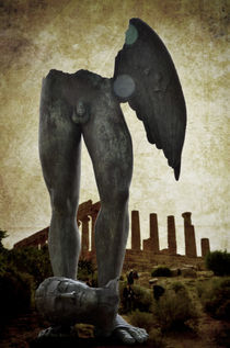 Winged legs at Temple of Juno in Agrigento by RicardMN Photography