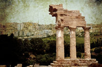 Temple of Castor and Pollux in Agrigento von RicardMN Photography