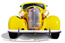 Old-Fashioned Car 02 by Michel Tcherevkoff