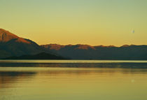 Lake Wakatipu dusk by photography-by-odille