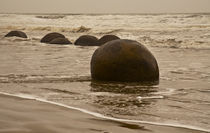 The Sands of Time, Moeraki Boulders #2 by photography-by-odille