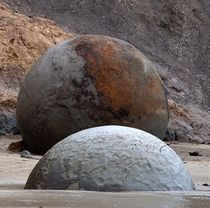 Moeraki Boulders #1 by photography-by-odille