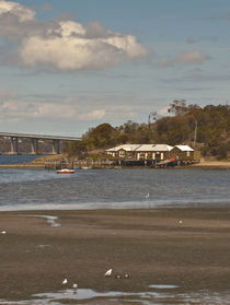 Cornelian Bay Boathouses, Tasmania, Australia by photography-by-odille