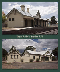 Uralla Railway Station, NSW, Australia von photography-by-odille