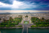 Panoramic view of Paris, France  by Tanja Krstevska