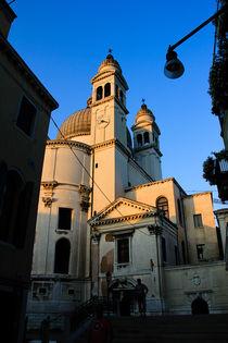 The Santa Maria della Salute by rhjvisser