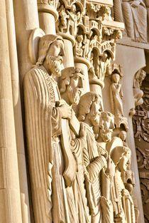 Stone carving. Riverside church of NY.  by Maks Erlikh