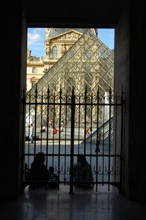 Entrance to Louvre Museum, Paris by Tanja Krstevska