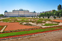 Belvedere palace in Vienna  von Tanja Krstevska
