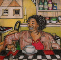Coffee With Gboungue by Lynn DeBeal