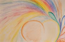 rainbow heart / Regenbogen Herz  by picadoro