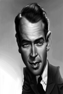 James Stewart by Alex Gallego