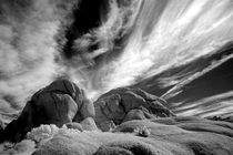 INFRARED BLACK AND WHITE IMAGE 29 PALMS,CALIF. von Brian  Leng