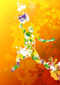 Colorful - Sports, Basketball by roguedesign