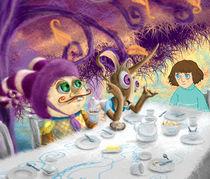 Mad tea party by Eszter Fézler