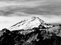 Mt Baker in B/W by Jon Mack