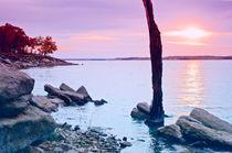 Lake at Sundown by Betty LaRue
